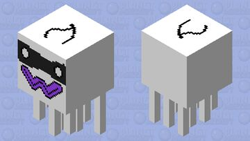 the exact same mob skin but its with the owo face Minecraft Mob Skin