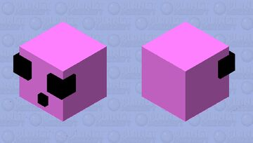 Cotten candy slime Minecraft Mob Skin