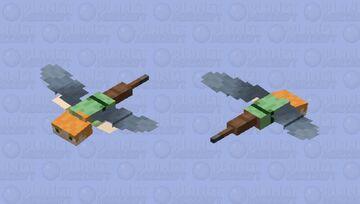 Gliding Alex Minecraft Mob Skin