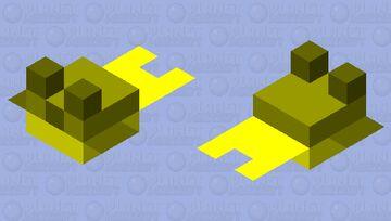 Golden Pufferfish Minecraft Mob Skin