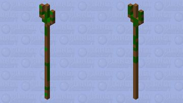 Trident Of Nature Minecraft Mob Skin