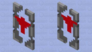 Assassin's shield. Minecraft Mob Skin