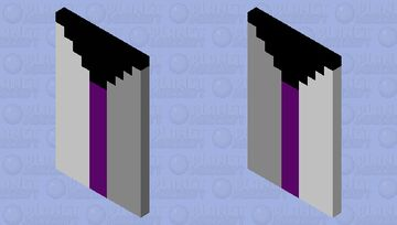 Updated Demisexual cape: For pride month Minecraft Mob Skin