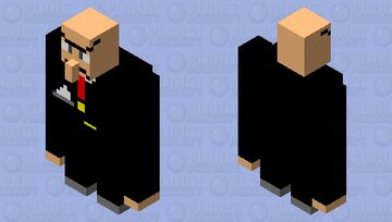 maybe kingpin??? Minecraft Mob Skin
