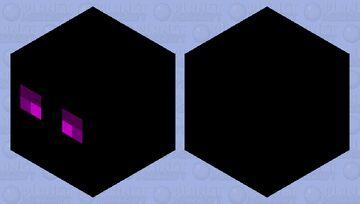 Ender cube Minecraft Mob Skin