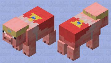 TechnoPig Minecraft Mob Skin