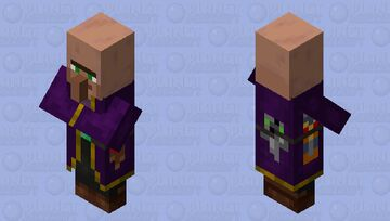 the merchant totem / villager Minecraft Mob Skin