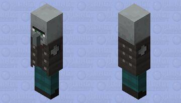 Peaceful Vincator (UNPUTATED ARM)  (Black humor) Minecraft Mob Skin
