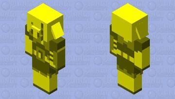 Golden Piglin Brute Minecraft Mob Skin