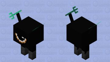 trident go ding Minecraft Mob Skin