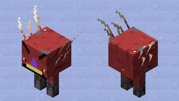 Strider with gross teeth and a nose Minecraft Mob Skin