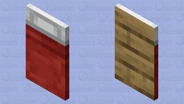 Minecraft Red Bed Cape Minecraft Mob Skin