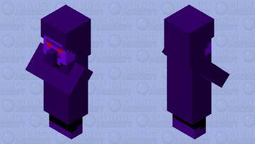 Void Villager Minecraft Mob Skin