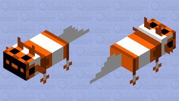 orange axolotl proto Minecraft Mob Skin