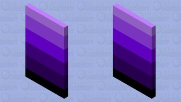 Shades of Purple Minecraft Mob Skin