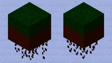 Ghast in Grass Minecraft Mob Skin