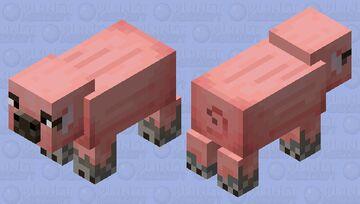 Mottled pig Minecraft Mob Skin