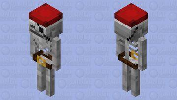 The Pirate Skeleton Minecraft Mob Skin