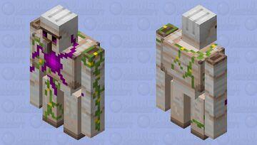 Magic Iron Golem (v2) Minecraft Mob Skin