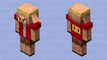 👑 The King of the Piglins 🐷 Minecraft Mob Skin