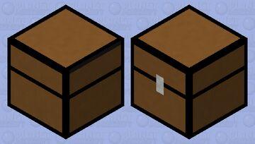 Shulker Chest Minecraft Mob Skin
