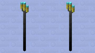 Noble's Trident Minecraft Mob Skin
