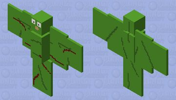 Duolingo (creepypasta) Minecraft Mob Skin