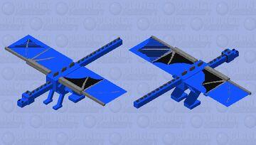 Blue ender dragon Minecraft Mob Skin
