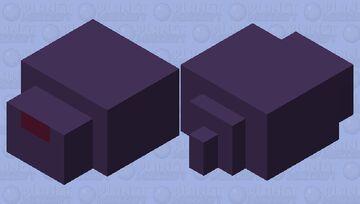 Simplified Endermite Minecraft Mob Skin