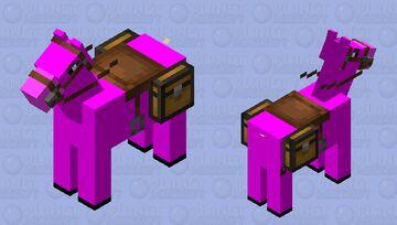 Horse Girl Minecraft Mob Skin