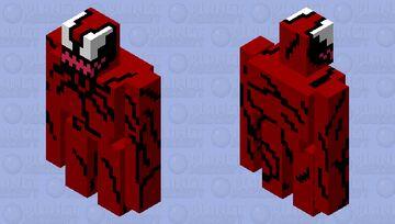 Carnage Minecraft Mob Skin
