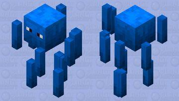 Aqua Blaze Minecraft Mob Skin
