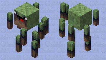 New Noob Jungle Blaze Skin Minecraft Mob Skin