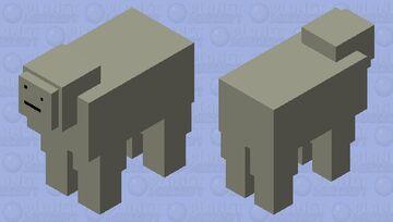 Stone sheep Minecraft Mob Skin
