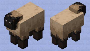 long nose sheep Minecraft Mob Skin