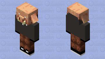 Michael the Piglin Minecraft Mob Skin