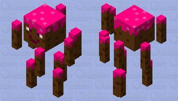 cake! Cake!! CAKE!!!  BLAZE Minecraft Mob Skin