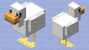 ROUNDEST DUCK! Minecraft Mob Skin