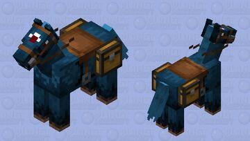 Demonic Seahorse Minecraft Mob Skin