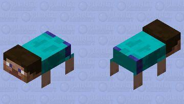 Tamable Sea Steve? Minecraft Mob Skin