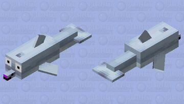 This dolphin is weird Minecraft Mob Skin