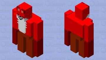 Fox golem Minecraft Mob Skin
