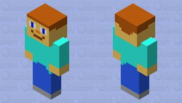Steve Piglin Minecraft Mob Skin