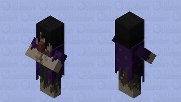 Possessed Witch (𝕱𝖔𝖗𝖇𝖎𝖉𝖉𝖊𝖓 𝕾𝖔𝖚𝖑𝖘) Minecraft Mob Skin