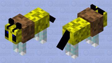 Bumble Bark Minecraft Mob Skin