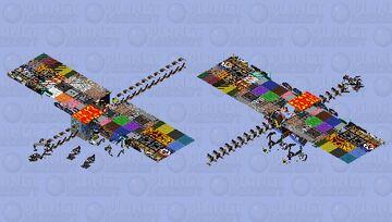 Refract blocks series 1 Minecraft Mob Skin
