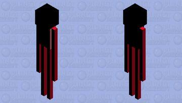 Mooshman (Mooshroom Enderman) Minecraft Mob Skin