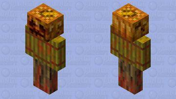 Nightmare Pumkin Minecraft Mob Skin