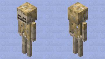 Skeleton Husk Minecraft Mob Skin