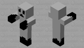 Night Watchman Minecraft Mob Skin